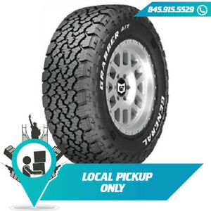 Local Pickup 115t Tire General Grabber A Tx Rwl 265 70r17 Set Of 2x