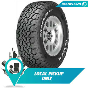Local Pickup 127 124r Tire General Grabber A tx Rwl Lt315 75r16 10 Set Of 2x