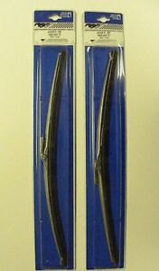 New 69 70 Mustang Cougar Windshield Wiper Blades Pair 16 With Metal Clip