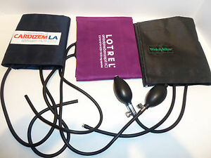 Lot Pharmaceutical Advertising Sphygmomanometers Blood Pressure Cuffs Welchallyn