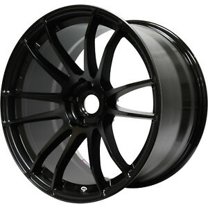 Gram Lights 57xtreme 18x8 5 5x108 5x4 25 38mm Black Wheels Rims Wgjv38r9