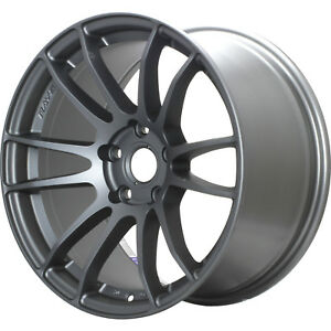 Gram Lights 57xtreme 18x8 5 5x100 42mm Gray Wheels Rims Wgjv42dmg