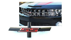 Grille Bowtie Delete Red Emblem Replaces 92225495 Fits 2010 2013 Chevy Camaro Ss