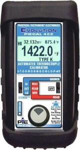 Piecal 422 Automated Thermocouple Calibrator 14 T c Types