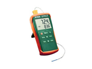 Extech Ea11a nist Contact Thermometers Types Rtd thermocouples Accepted K