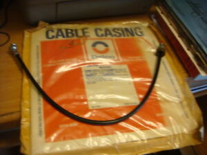 1963 63 Corvette Fuel Injection Tachometer Drive Cable And Casing Delco Gm 24