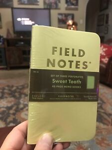 Field Notes Sweet Tooth Edition Limited Edition 30 000 Spring 2016