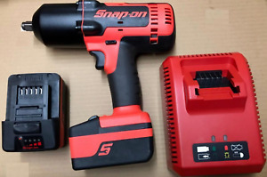 Snap on Tool 18 V 1 2 drive Cordless Monsterlithium Impact Wrench pinned Anvil