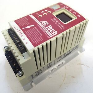Ac Tech Variable Speed Ac Motor Drive Sm005s Hp 5 Kw 37 Manual Sm01c