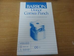 Nib Katena K20 2074 Barron Donor Cornea Punch Set 7 0mm Diameter Surgical Med Or