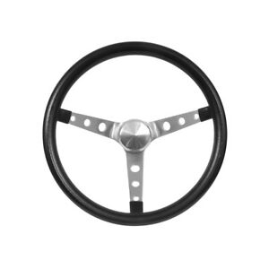Grant Steering Wheel Nostalgia 15 Black No Logo 1965 1989 Mustang