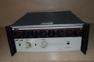 Fluke 6039a Frequency Synthesizer 6f