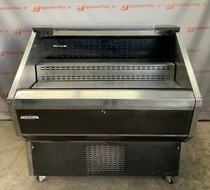 Federal Rss4sc 4b Open Air Case Reach In Self Serve Display Refrigerated Cooler