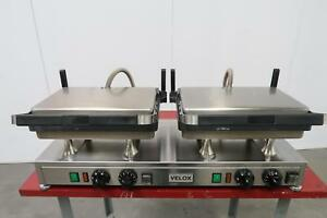 Velox Silesia Grill Machines Cg 2 High Speed Contact Grill 240 V 4800 W 20 A T1