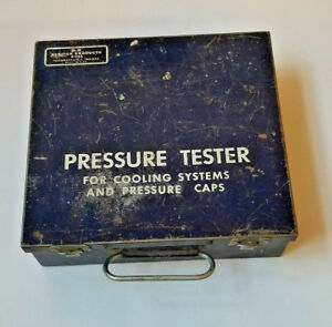 B K Service Products 4 1162 Vintage Cooling System Pressure Tester With Case