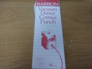 Katena K20 2114 Barron Donor Cornea Punch Set 9 5mm Diameter Surgical Medical Or