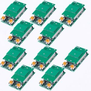 10pc Dc 5v 5 8ghz Microwave Radar Sensor Switch Module Ism Waveband 12m Hfs dc06