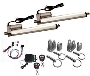 2 Heavy Duty Linear Actuator 12v 10 Stroke Includes Remote Switch