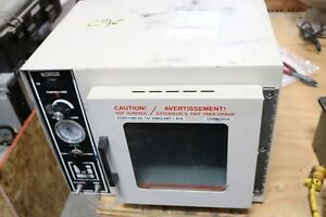 Lab line 3608 Laboratory Vacuum Oven 0 7 Cu ft 220 c 115v Working
