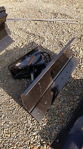 New 48 4 Mini Skid Steer Dozer Blade Snow Plow Fit Bobcat Mt50 mt52 mt55 463