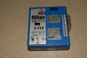 Gilian Hi Flow Sampler Model Hfs113 Hfs 113 1