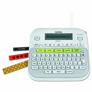 Brother White Ptd210 P touch Easy Compact Label Maker New