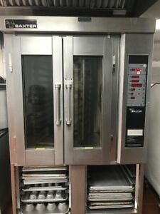 Baxter Ov300g Mini Rotating Rack Natural Gas Convection Oven Great Condition