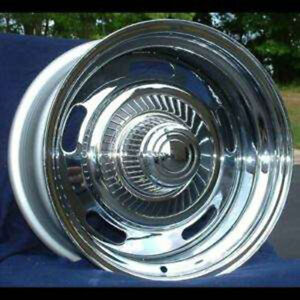 New Aftermarket 15x7 Chrome Rally Wheel For 1969 1977 Chevy Models