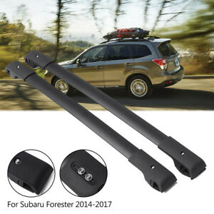 For 2014 2017 Subaru Forester Cross Bars Crossbars Roof Rack Oe Style e361ssg000