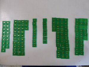Huge Lot Of 128 1960s Texas Instruments Ti 53 Series Flatpack Computer Ic Chips