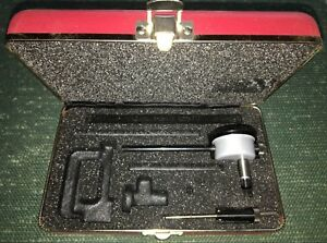 Starrett No 650 Back plunger Dial Indicator 0 100 Dial Reading 001 Grads