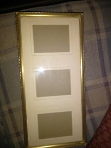 Vintage Ornate Metal Picture Frames 5x7 15x7 Lot Of 2