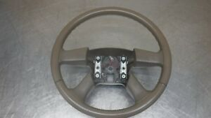 Chevrolet Gmc Tahoe Suburban Yukon Escalade Steering Wheel 03 06 Leather Tan