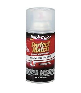4 Pack Duplicolor Bcl0125 Protective Clear Top Coat Finish 8 Oz Aerosol