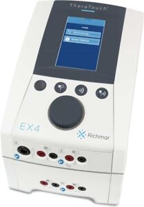 Richmar Theratouch Ex4 Clinical 4 channel Electrotherapy System Dq7000 New