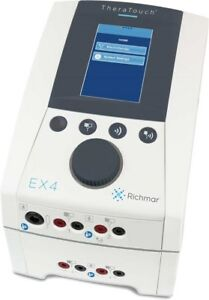 Richmar Theratouch Ex4 Clinical 4 channel Electrotherapy System With Cart Dq7001