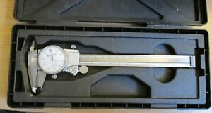 Mitutoyo 505 712 Dial Caliper 0 6 In Hard Carrying Case