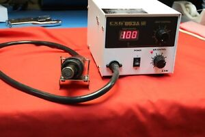 Cxg 853a Digital Removable De soldering Hot Air Machine 100 To 480c E4cvcc
