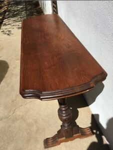 Antique Sofa Table 52 Long Wood Local Pick Up So Ca