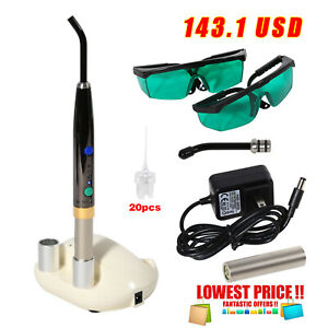 Dental Diode Laser System Wireless Heal Laser Pen Oral Surgery Soft Tissue Lamp