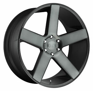 1 New 30x10 Dub Baller Black Machined Wheel Rim 6x139 7 6 139 7 30 10