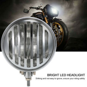 Universal Motorcycle Led Headlight Headlamp Front Lights Driving Lamp Case O8z1