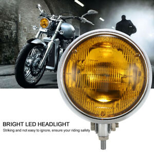 Motorcycle Led Headlight Headlamp Front Lights Driving Lamp Case Universal T2p1