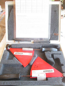 G e general Electric Rack Gauge Set With Case Snap on Brand Handles