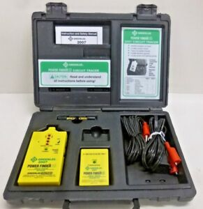 New Greenlee Power Finder 2007 Circuit Tracer