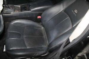 2009 2010 Infiniti G37 Left Front Driver Bucket Seat Black Leather Power 566067