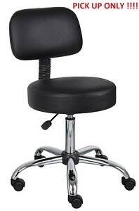 Boss Office Products B245 bk Be Well Medical Spa Stool Back Pick Up Only