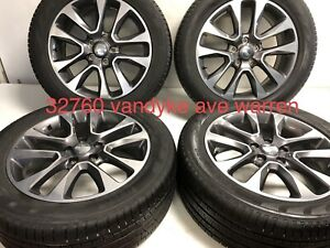 20 Oem Jeep Grand Cherokee 9168 Wheels And Tires Great Shape