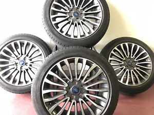 18 Inch Oem Ford Fusion Wheels And Tires Set 10121 Hn 2017 2018 2019