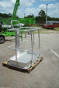 Bil Jax A000450 Platform Basket fits 3522a 3632t 4527a 5533a Towable Haulotte